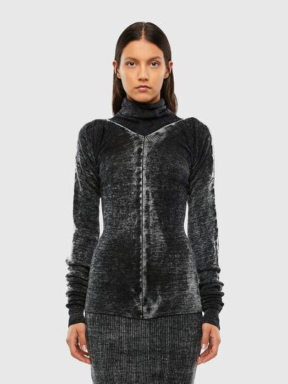 Diesel - M-ISABELLE, Black - Knitwear - Image 1