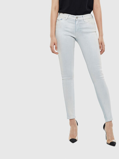 Diesel - Slandy 0099W, Light Blue - Jeans - Image 1