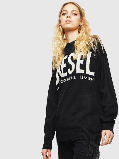 Diesel - K-LOGOS, Black - Knitwear - Image 2