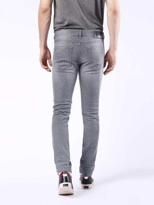 Diesel - Buster 0853T, Black/Dark grey - Jeans - Image 3