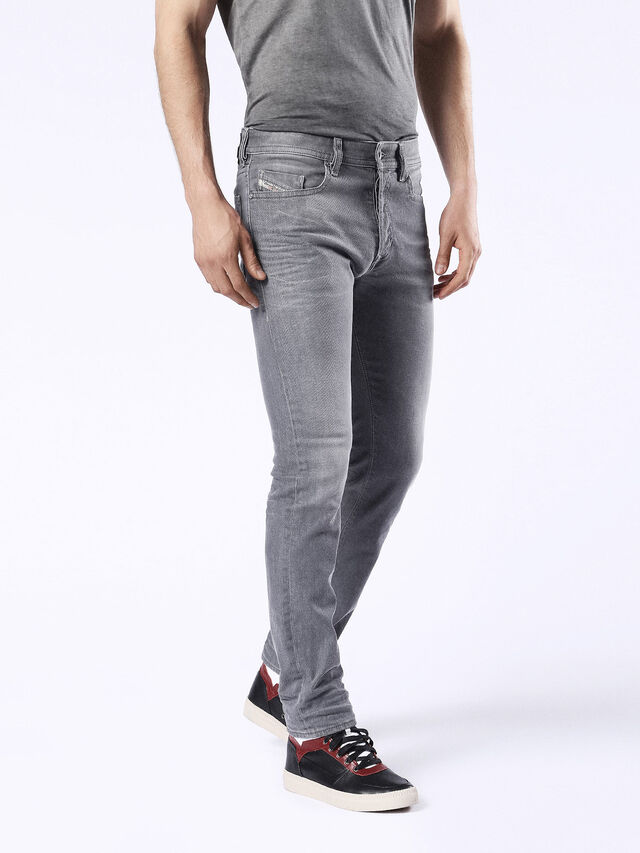 Diesel - Buster 0853T, Black/Dark grey - Jeans - Image 6