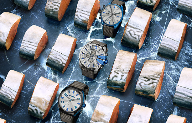 Shop Diesel Watches | Bue Tech Collection