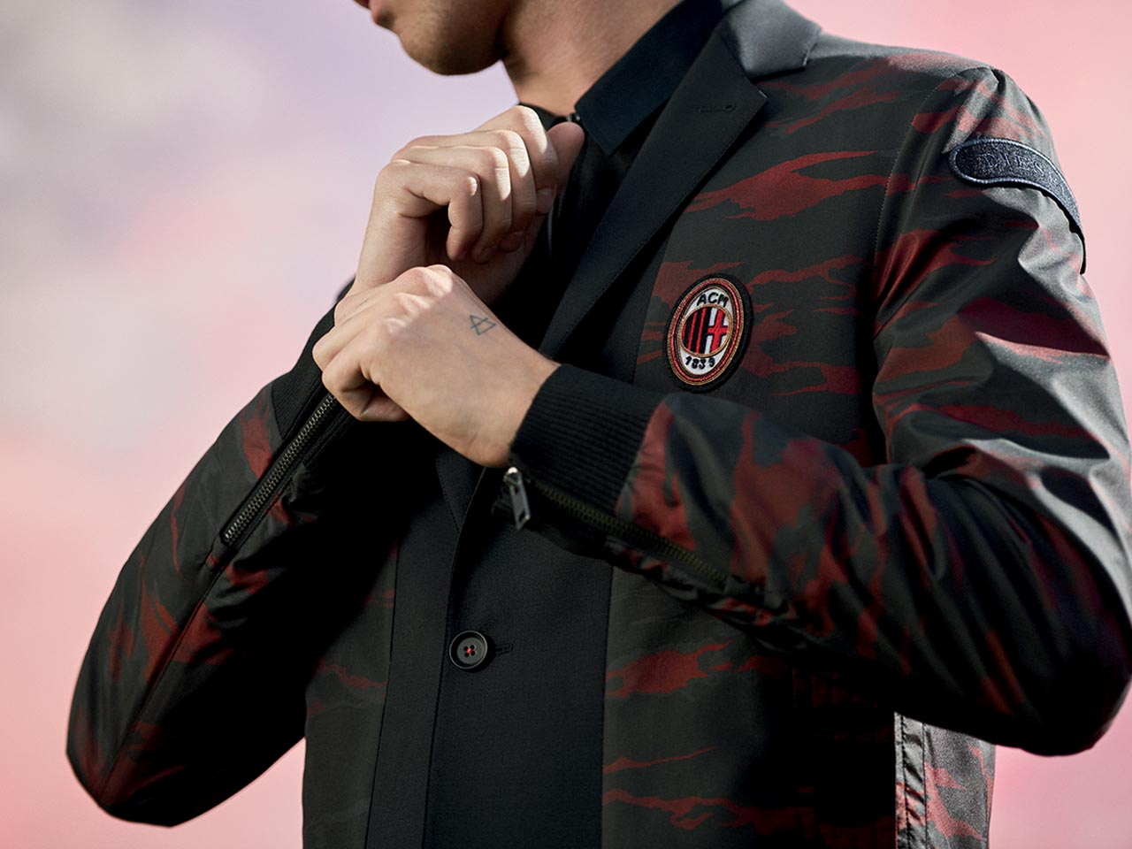giacca AC Milan nuove
