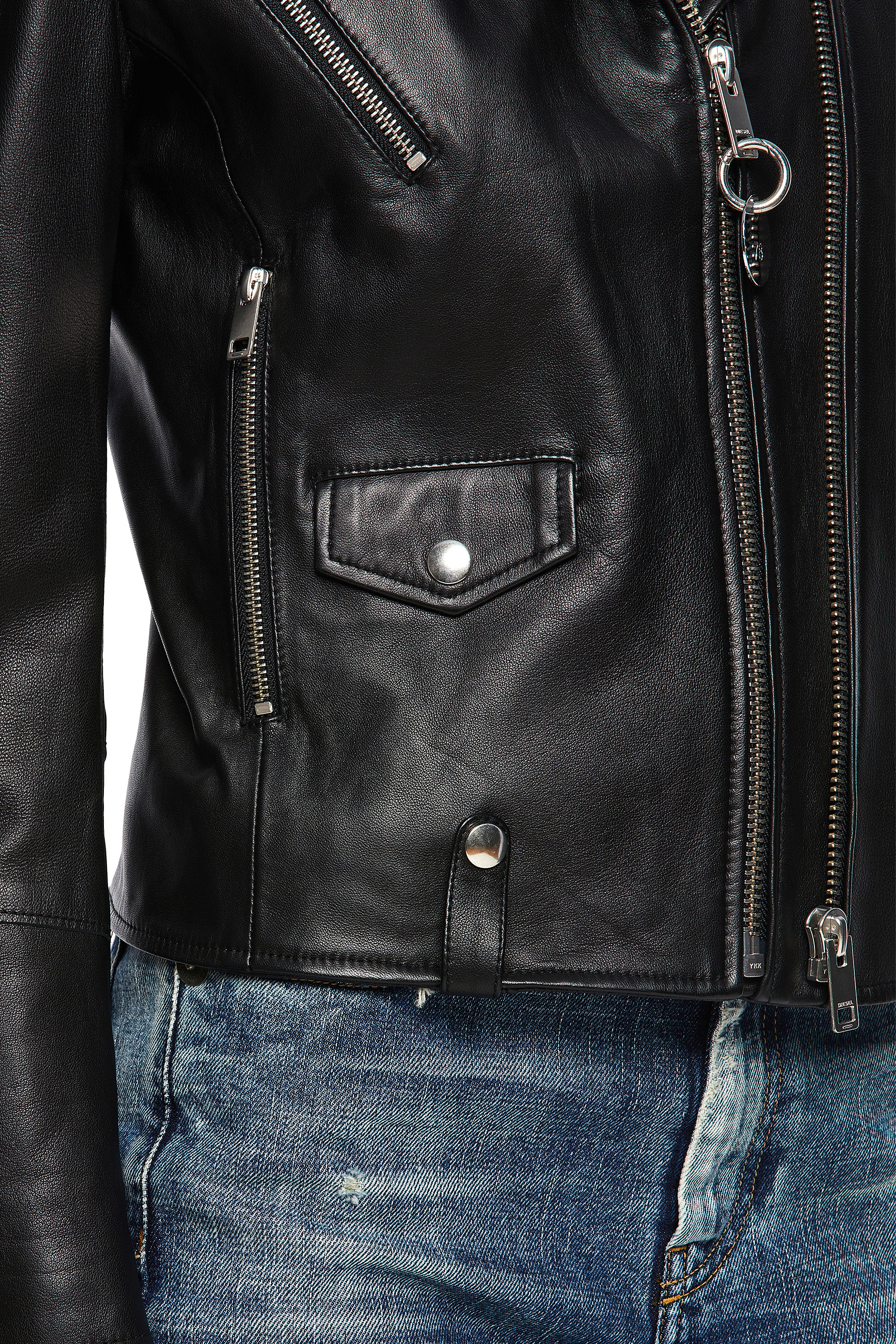 Diesel - L-LYFA,  - Leather jackets - Image 5